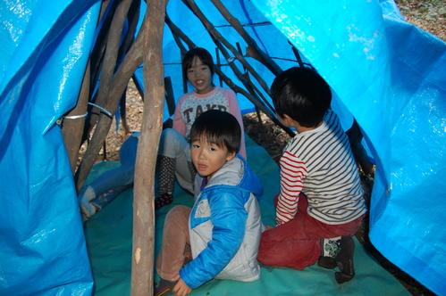 「きのくに子どもNPO」が孝子の森にやってっ来た     by     (TATE-misaki)_c0108460_3125032.jpg
