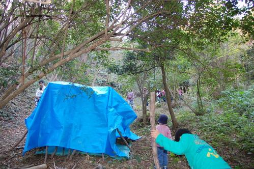 「きのくに子どもNPO」が孝子の森にやってっ来た     by     (TATE-misaki)_c0108460_312899.jpg