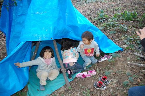「きのくに子どもNPO」が孝子の森にやってっ来た     by     (TATE-misaki)_c0108460_313533.jpg