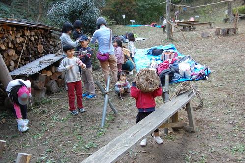「きのくに子どもNPO」が孝子の森にやってっ来た     by     (TATE-misaki)_c0108460_314063.jpg