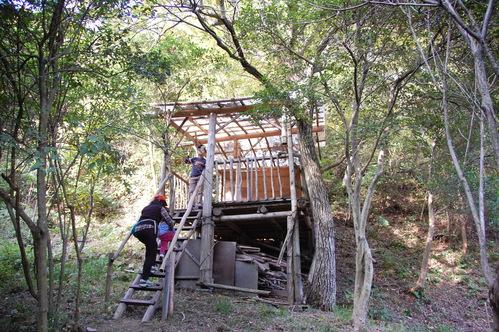 「きのくに子どもNPO」が孝子の森にやってっ来た     by     (TATE-misaki)_c0108460_395074.jpg