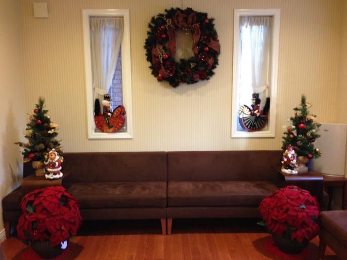 クリスマスの飾り付けをしました!_b0286261_1622157.jpg
