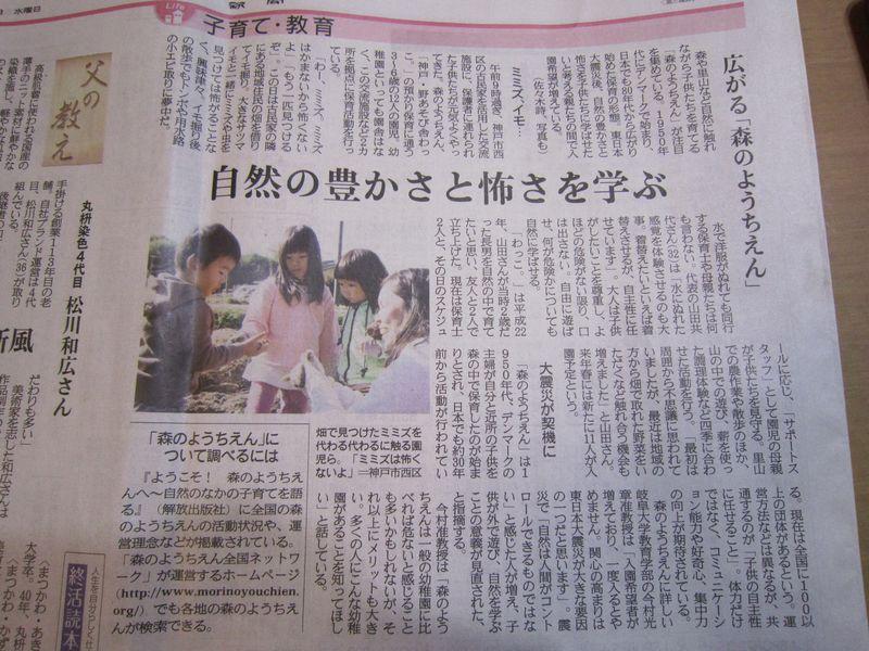 森の幼稚園       by   (ナベサダ)_f0053885_20464820.jpg