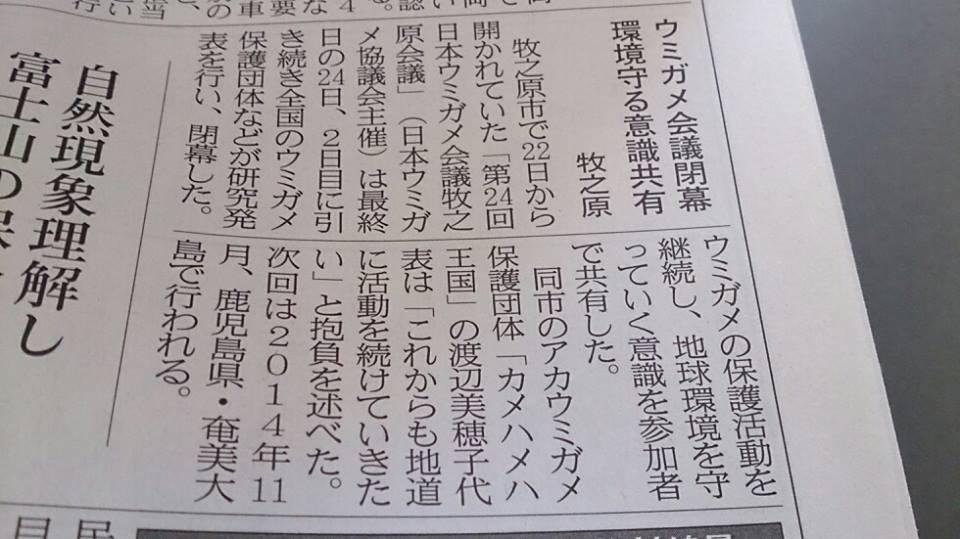 11/22-24 第24回日本ウミガメ会議in牧之原_a0010095_23301481.jpg