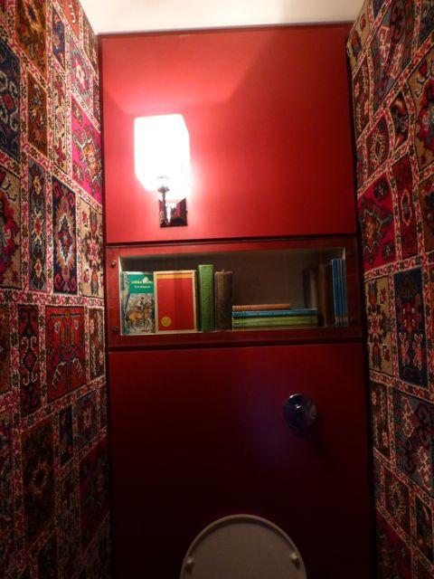 お部屋の様なトイレ@ロンドン_f0096017_119594.jpg