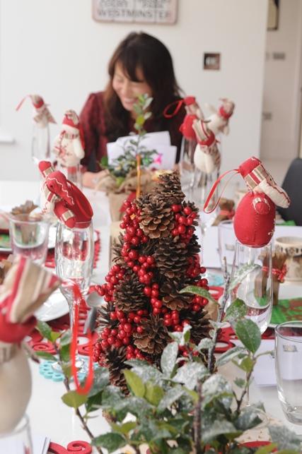 やさしさいっぱいのクリスマステーブルコーディネート_d0104926_23573767.jpg
