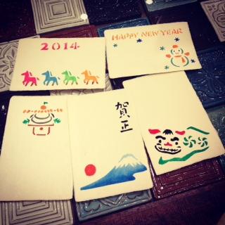 11月26日 年賀状を作ろう @じばさんeleSOL店_e0295731_1261396.jpg