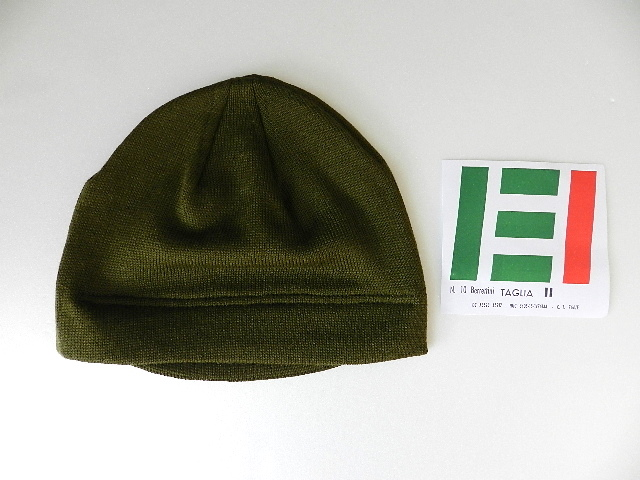 Italian army knit cap dead stock_f0226051_12311038.jpg