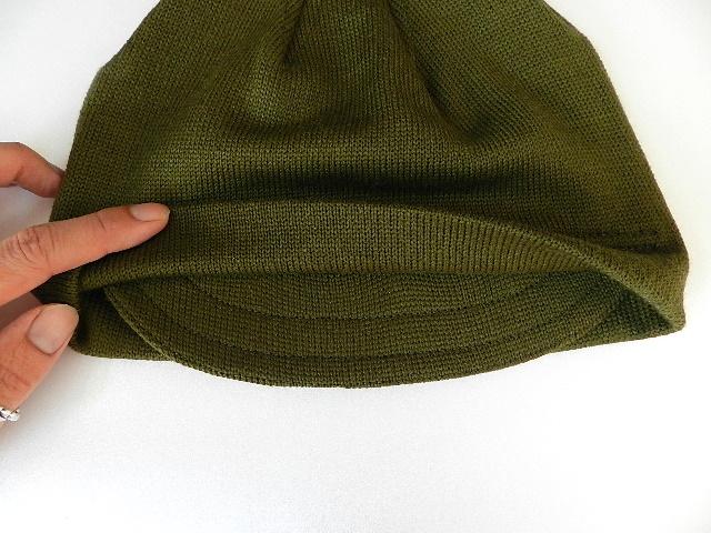Italian army knit cap dead stock_f0226051_12355320.jpg