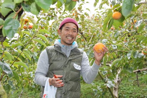 柿の学(楽)習会&柿狩りツアー_b0206253_1175258.jpg