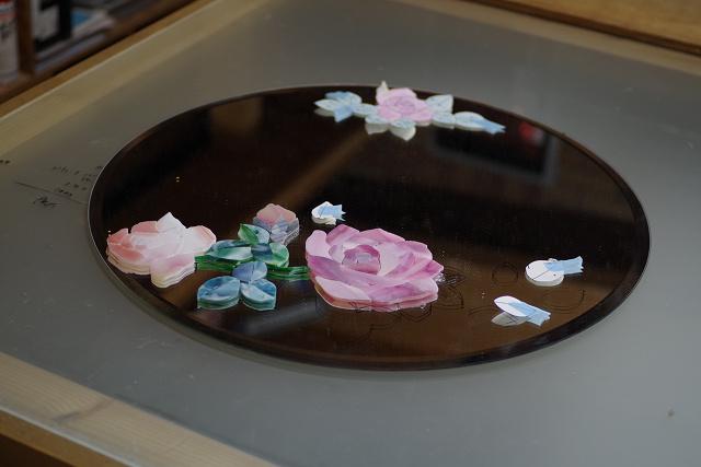 生徒さんの薔薇のミラー_a0278866_23334722.jpg