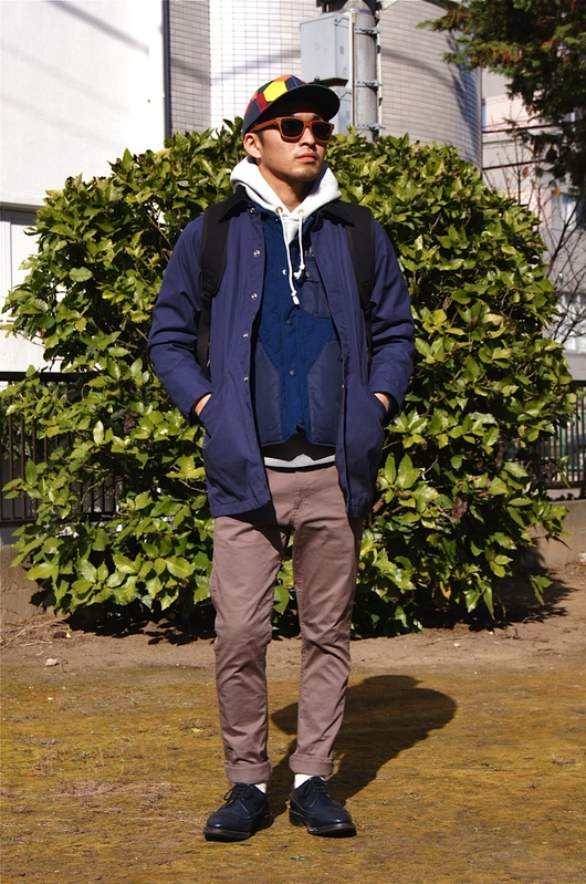 STANDARD CALIFORNIA × White Mountaineering  -  Coat in Vest!!_f0020773_20224852.jpg