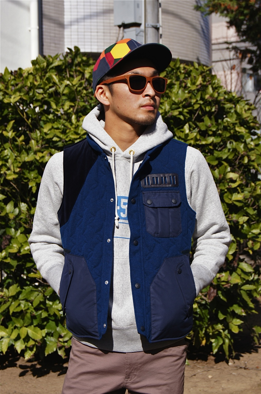 STANDARD CALIFORNIA × White Mountaineering  -  Coat in Vest!!_f0020773_20242224.jpg