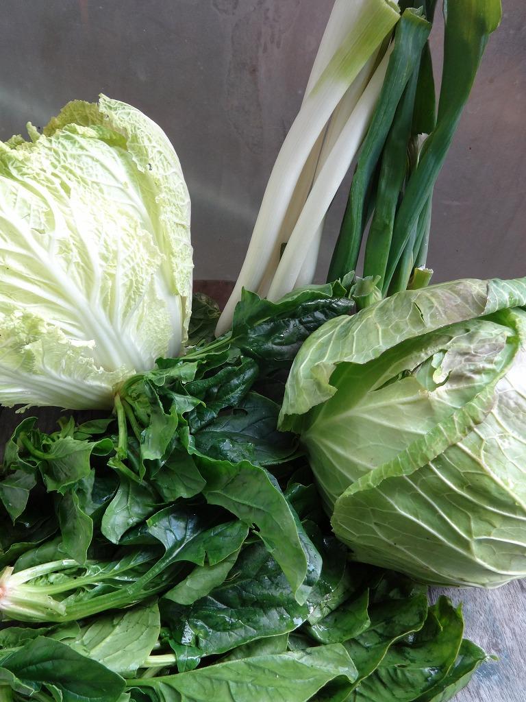 実家からの野菜2013第三弾、いい匂いを放ち来た_d0061678_1528990.jpg