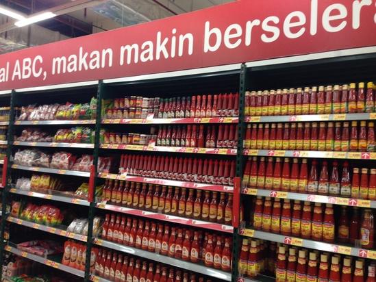 ジャカルタのスーパーマーケット3_c0237291_12563581.jpg