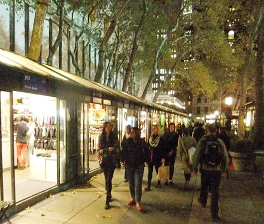 NYブライアント・パークのWinter Village 2013_b0007805_10294399.jpg
