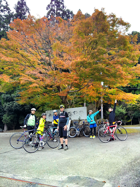 【イベント報告】2013.11.3.sun ほっこり京都観光ロードバイクライド_e0313913_17264083.jpg
