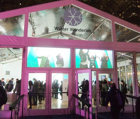Googleが初めて出したホリデー・シーズン限定の体験ラボ、Winter Wonderlab_b0007805_1571828.jpg