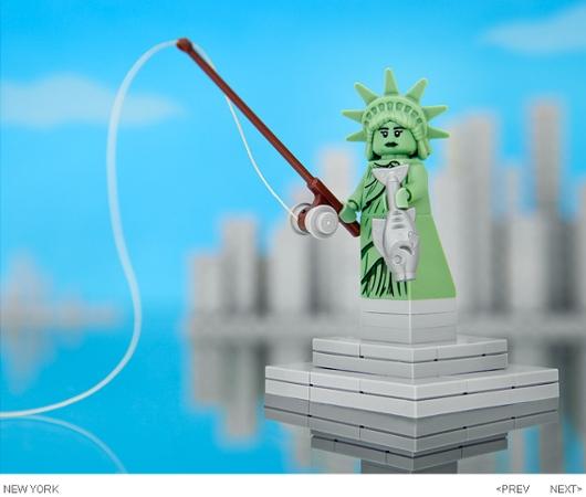 """全米50州をレゴ・ブロックで作った\""""50 STATES OF LEGO\"""" by Jeff Friesen_b0007805_851513.jpg"""