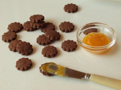 生姜とココアのクッキー_b0254207_21253941.jpg