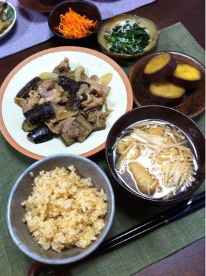ナスと豚肉の味噌炒め_d0235108_2048351.jpg