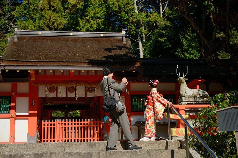 2013京都の紅葉!・大原野神社_f0032011_19451845.jpg