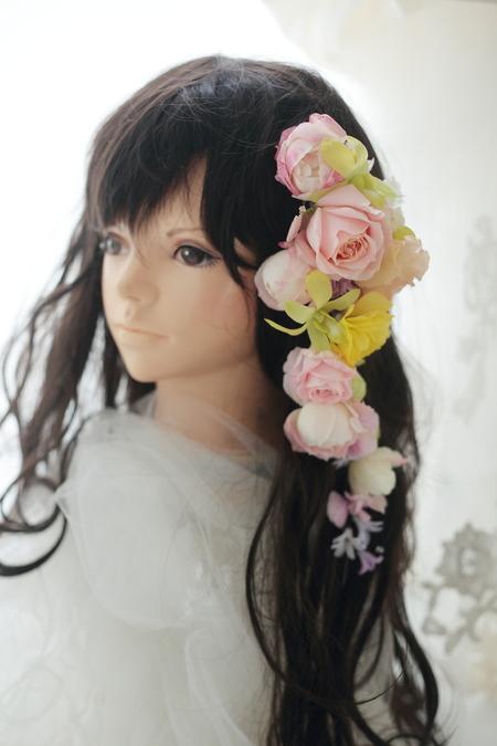 花嫁様を花で飾る 麻布セントメアリー教会様へ_a0042928_2048103.jpg