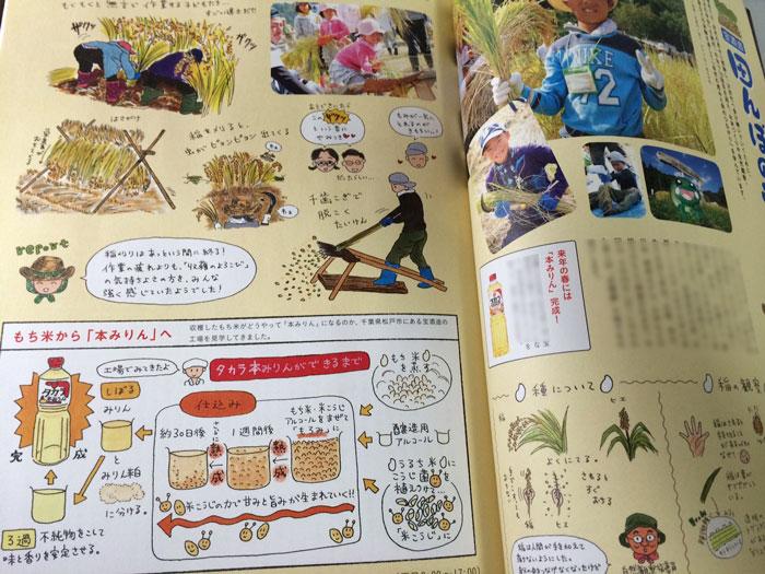 宝酒造「田んぼの学校」 きょうの料理ビギナーズ2013年12月号(NHK出版)_f0134538_21521251.jpg