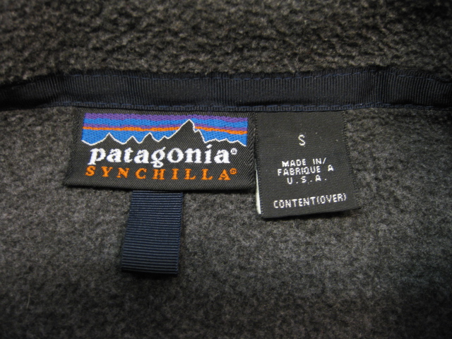Patagonia Synchilla フリースジャケット_b0114845_17040381.jpg