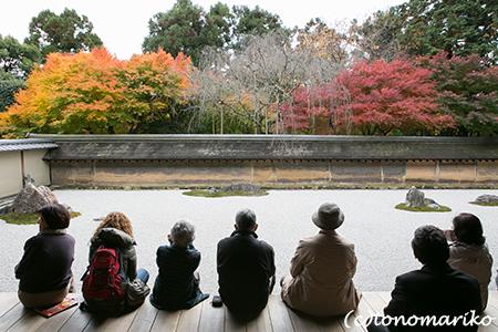 秋色の京さんぽ「龍安寺」_c0024345_11345220.jpg