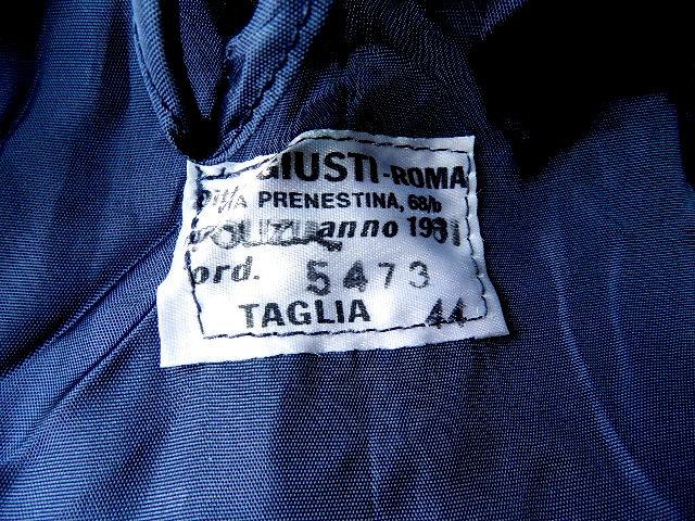 Italian post man jaket dead stock_f0226051_14345670.jpg