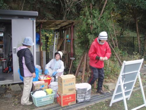 サツマイモ掘り&イベント準備_c0108460_1871630.jpg