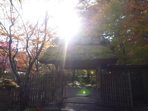 亀の井別荘。。。健太郎さんのお招きで。。。錦秋の湯布院へ。。。。☆⊹⊱..☆*:.。.☆*†_a0053662_1432873.jpg