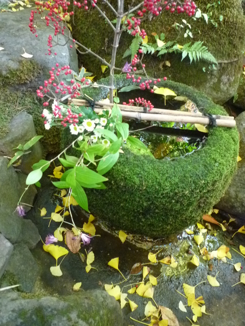 亀の井別荘。。。健太郎さんのお招きで。。。錦秋の湯布院へ。。。。☆⊹⊱..☆*:.。.☆*†_a0053662_14462453.jpg