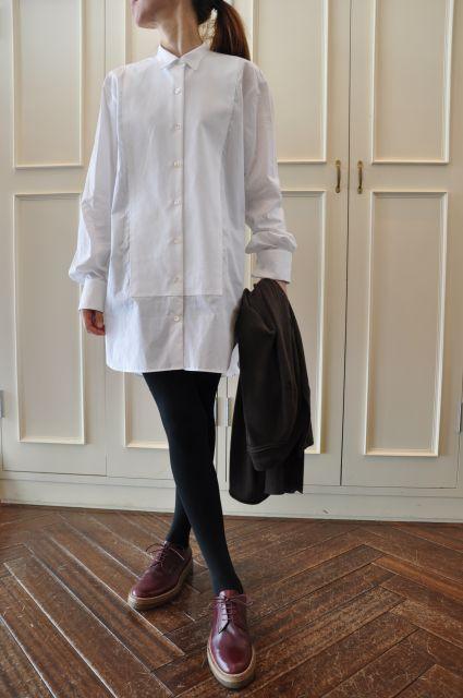 素敵な大人の白いシャツ DRIES VAN NOTEN ._b0110586_1927296.jpg