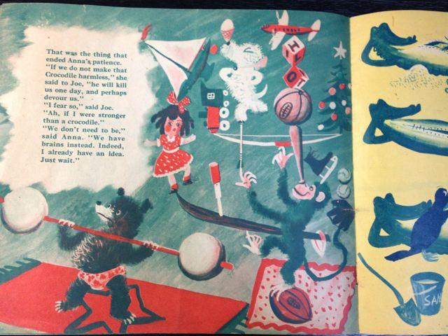 ロジャー・デュボアザンさんの「SANTA\'S CIRCUS」~クリスマスの絵本(其の二)_e0152493_23122930.jpg