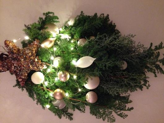 クリスマスに向けて初「スワッグ」を作りましたo(^▽^)o_a0213806_1264398.jpg