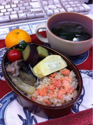 ナスと豚肉の味噌炒め_d0235108_1222625.jpg