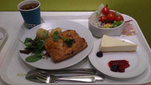 『IKEA』5周年記念のディナーのお食事は!(^^)!_b0129758_9464545.jpg
