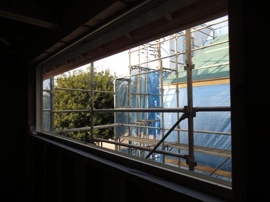 朝霞の家 外壁取付_c0310571_10234738.jpg