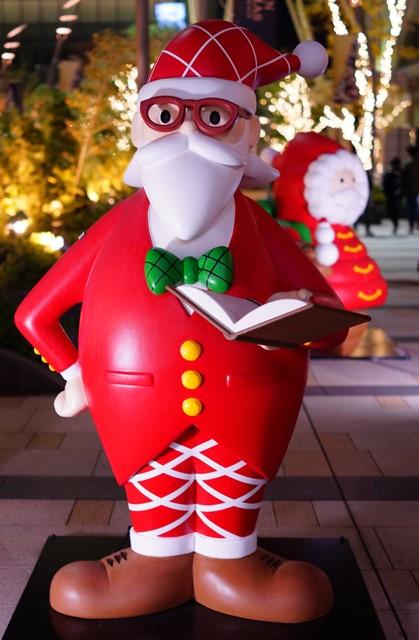 サンタさんがいっぱい!六本木ミッドタウンのクリスマス_b0145398_19411133.jpg