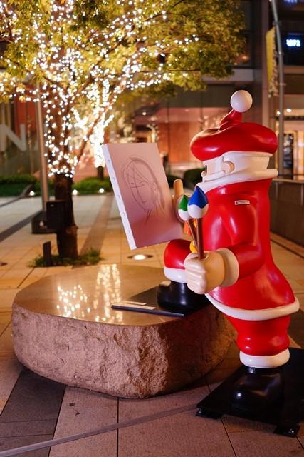 サンタさんがいっぱい!六本木ミッドタウンのクリスマス_b0145398_19455680.jpg