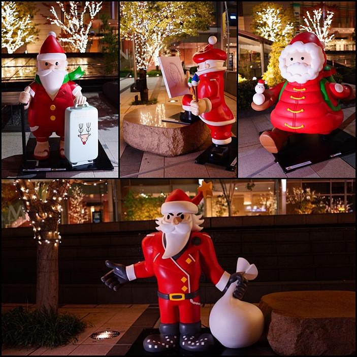 サンタさんがいっぱい!六本木ミッドタウンのクリスマス_b0145398_19465635.jpg