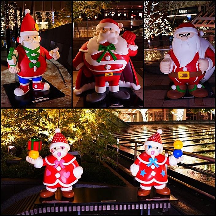 サンタさんがいっぱい!六本木ミッドタウンのクリスマス_b0145398_20114259.jpg