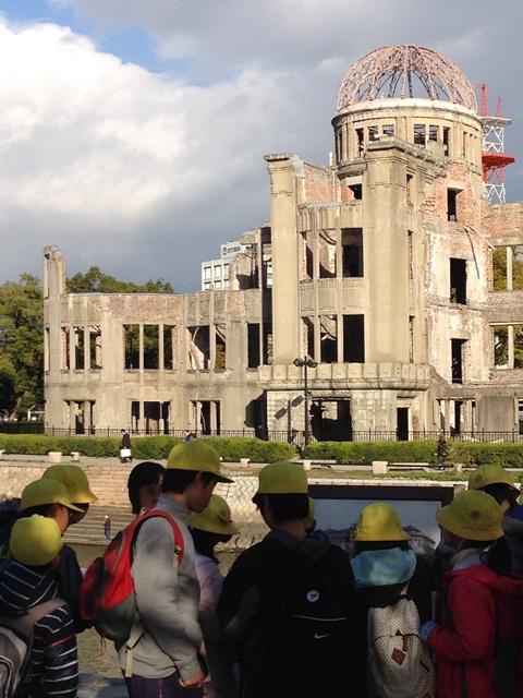 広島平和記念公園を歩いて(*^^*)_a0213806_23264696.jpg