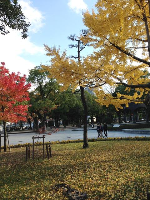 広島平和記念公園を歩いて(*^^*)_a0213806_2335116.jpg