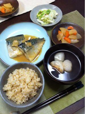 サバの味噌煮_d0235108_20103786.jpg