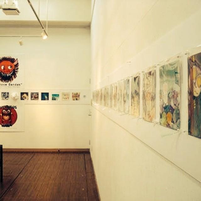 『モンスタートレイン2013〜モーリス・センダックへのオマージュ』展_f0172313_3483091.jpg