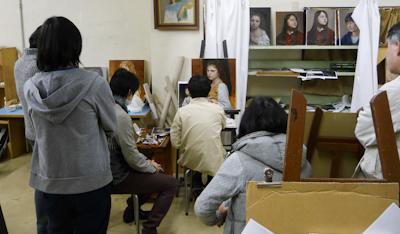 古吉弘の古典的技法クラス 実演_b0107314_16215896.jpg