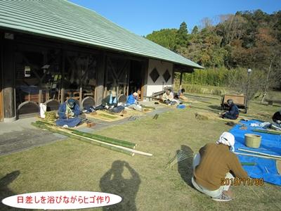 竹かご教室(応用編)①_a0123836_16424582.jpg